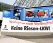 Weltverkehrsforum: Proteste gegen Eurocombi